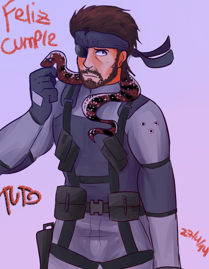 Fanart De Solid Snake Metal Gear Solid Fanart Of Solid