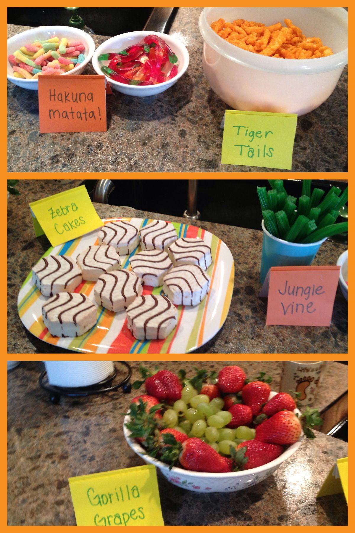 GreyGrey Designs My Parties Bretts Jungle Safari 1st Birthday