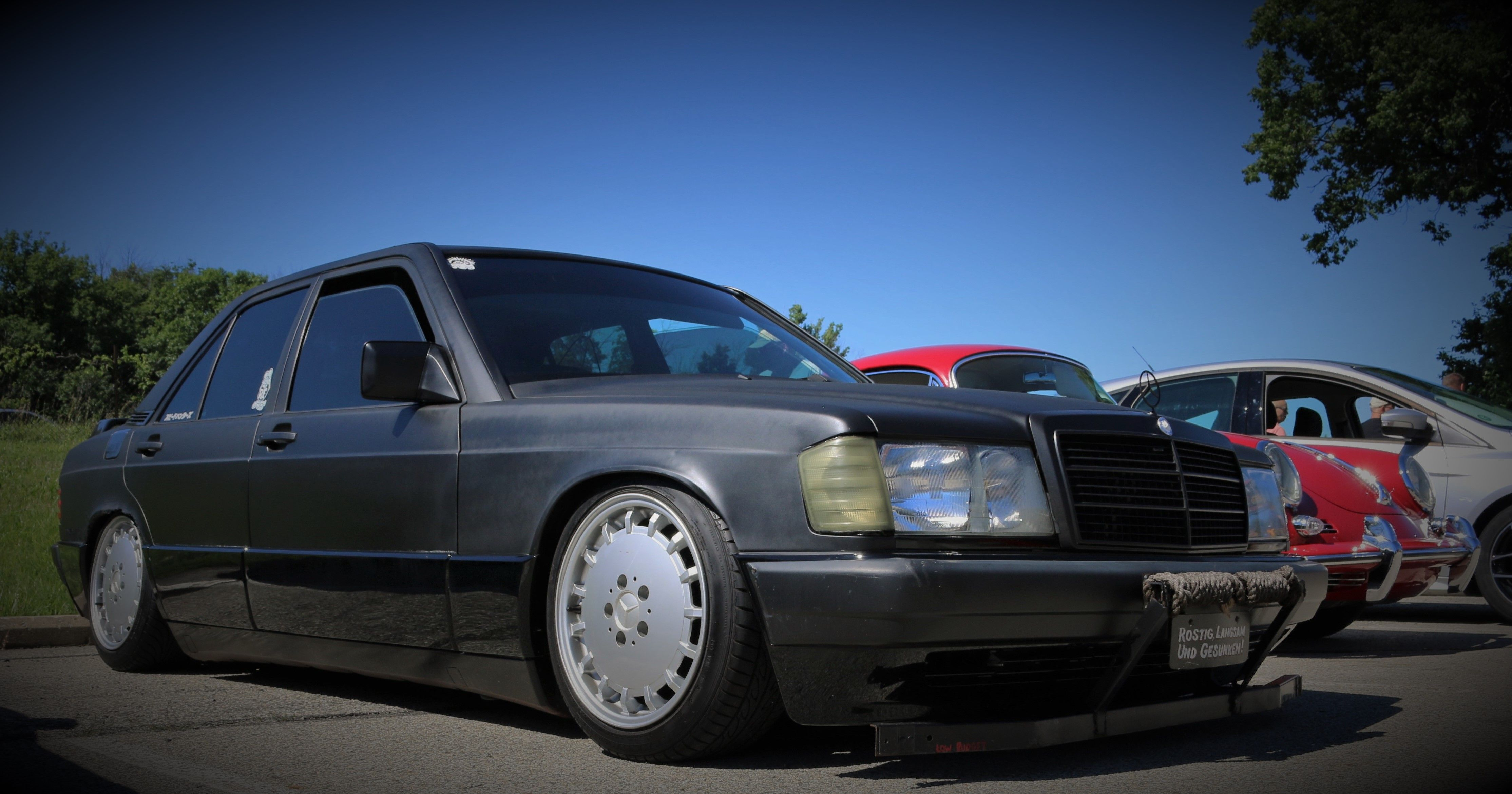 Tank Mouse Productions 190E 2 3 16 static low Mercedes