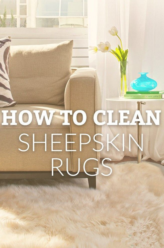 How To Care For And Wash Your Sheepskin Rug
