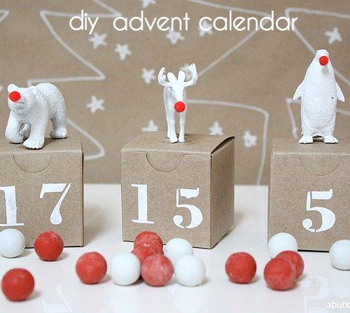 Più di 100 Calendari dell'avvento fai da te | Idee natale ...
