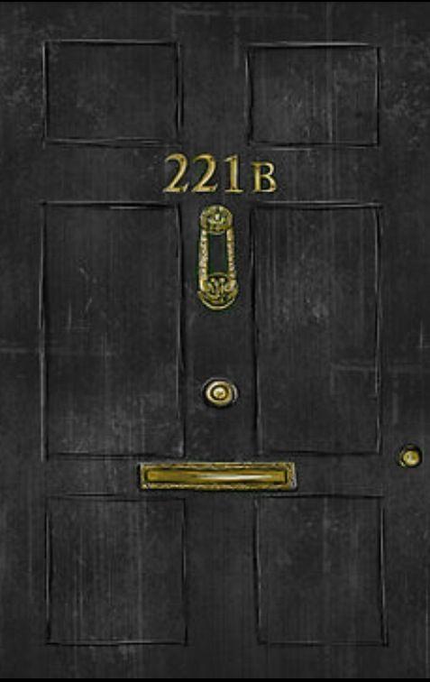 221 Baker Street Lock Screen The Nerd Board Sherlock Baker