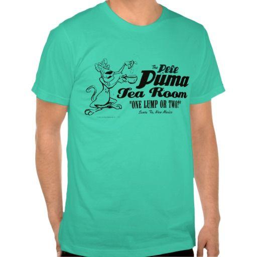 1278e11baa0 Pete Puma Tea Room 2 T-Shirt | Zazzle.com | Retro T Shirts | Shirts ...