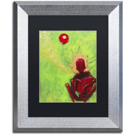 Trademark Fine Art 'Last Time' Canvas Art by Craig Snodgrass, Black Matte, Silver Frame, Size: 11 x 14, Assorted