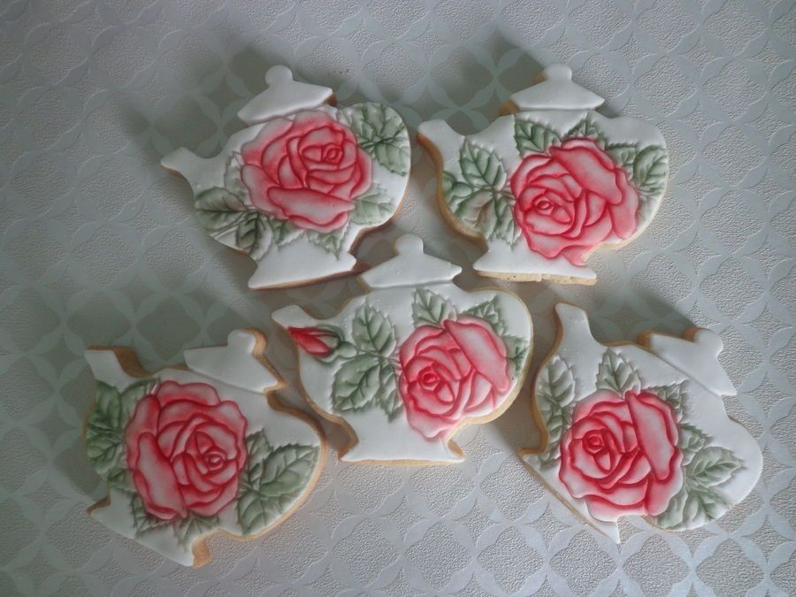 Teapot Cookies by Zoe Robinson