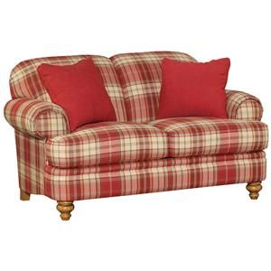 Red Plaid Furniture Country Sofas Plaid Living Room