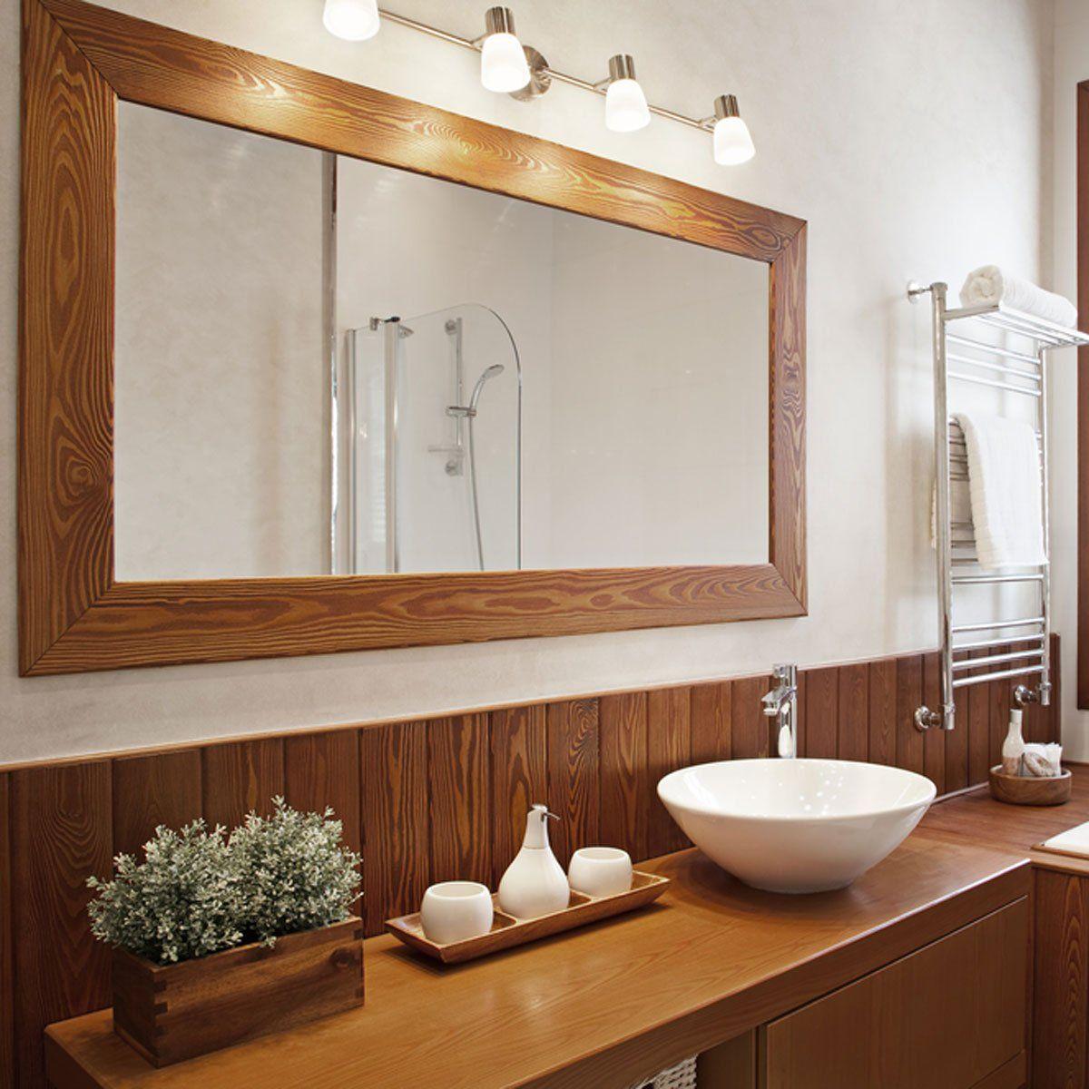 large simple bathroom mirror mirrors heavy hanging modern kitchens 2020