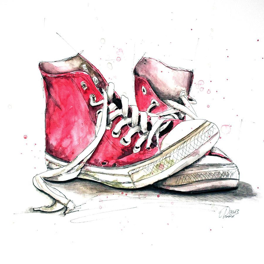 how to draw old converse shoes painting products pictures