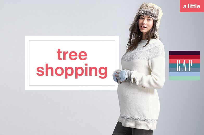 Gap Maternity in the Holiday Spirit- Agency: Expecting Models