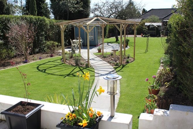 Beautiful #ClassicGarden #GardenDesign #Leicester #Sunny # ...