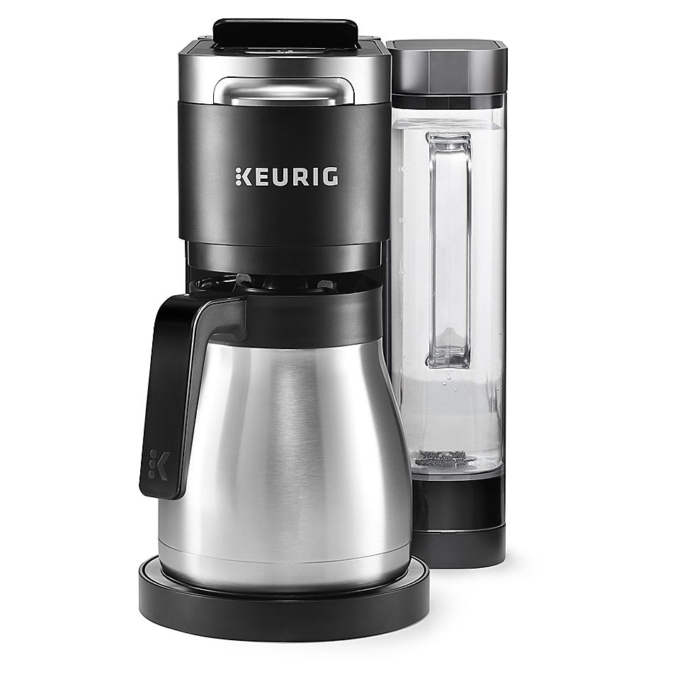 Keurig K Duo Plus Coffee Maker With Single Serve K Cup Pod Carafe Brewer Black Single Coffee Maker Coffee Maker Keurig