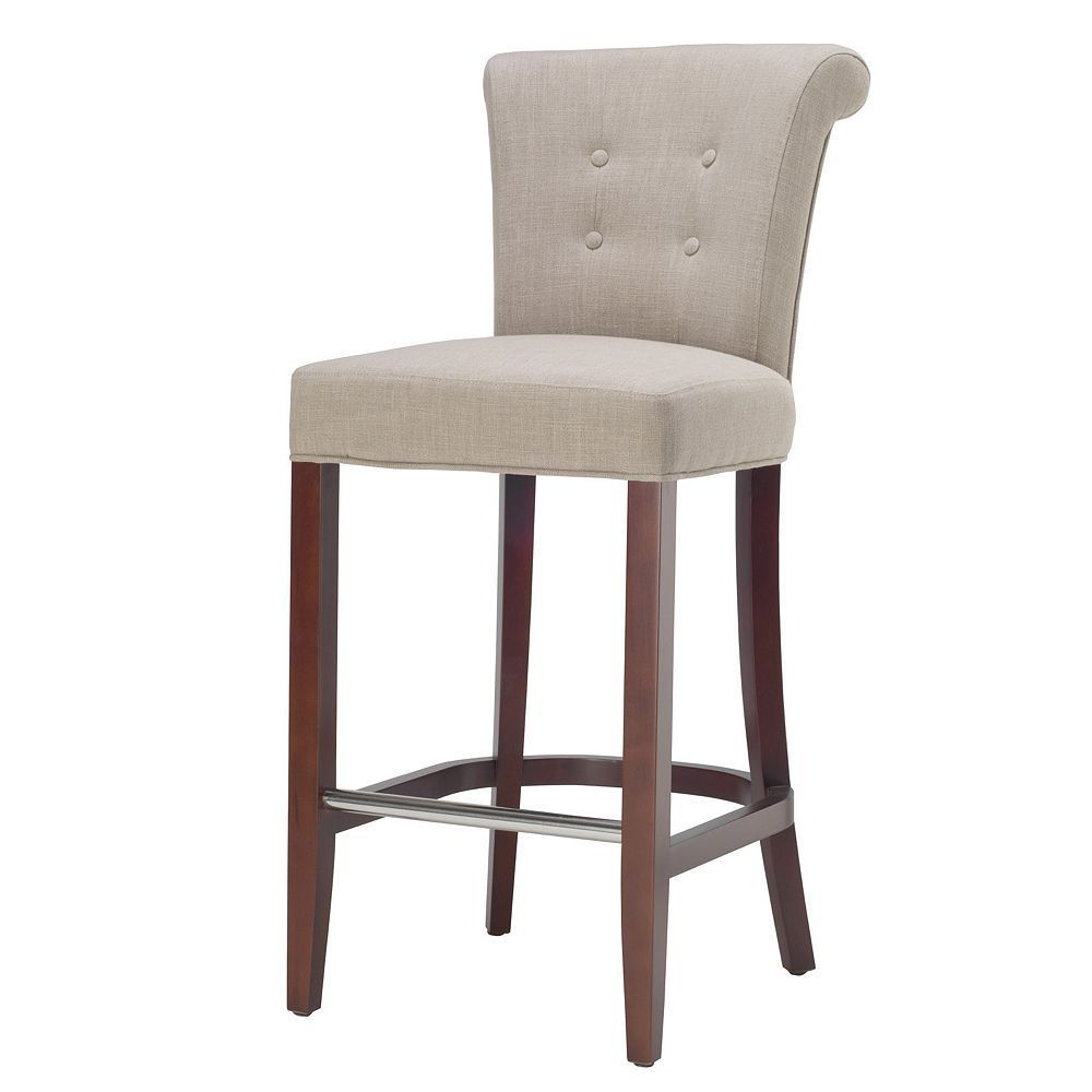 Safavieh Riley Bar Stool Upholstered Bar Stools Bar Stools