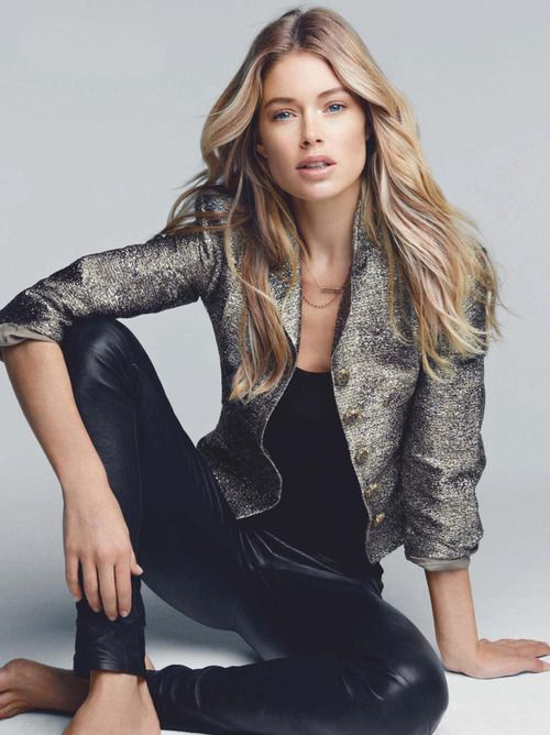 Model:  Doutzen Kroes Vogue Netherlands December 2012