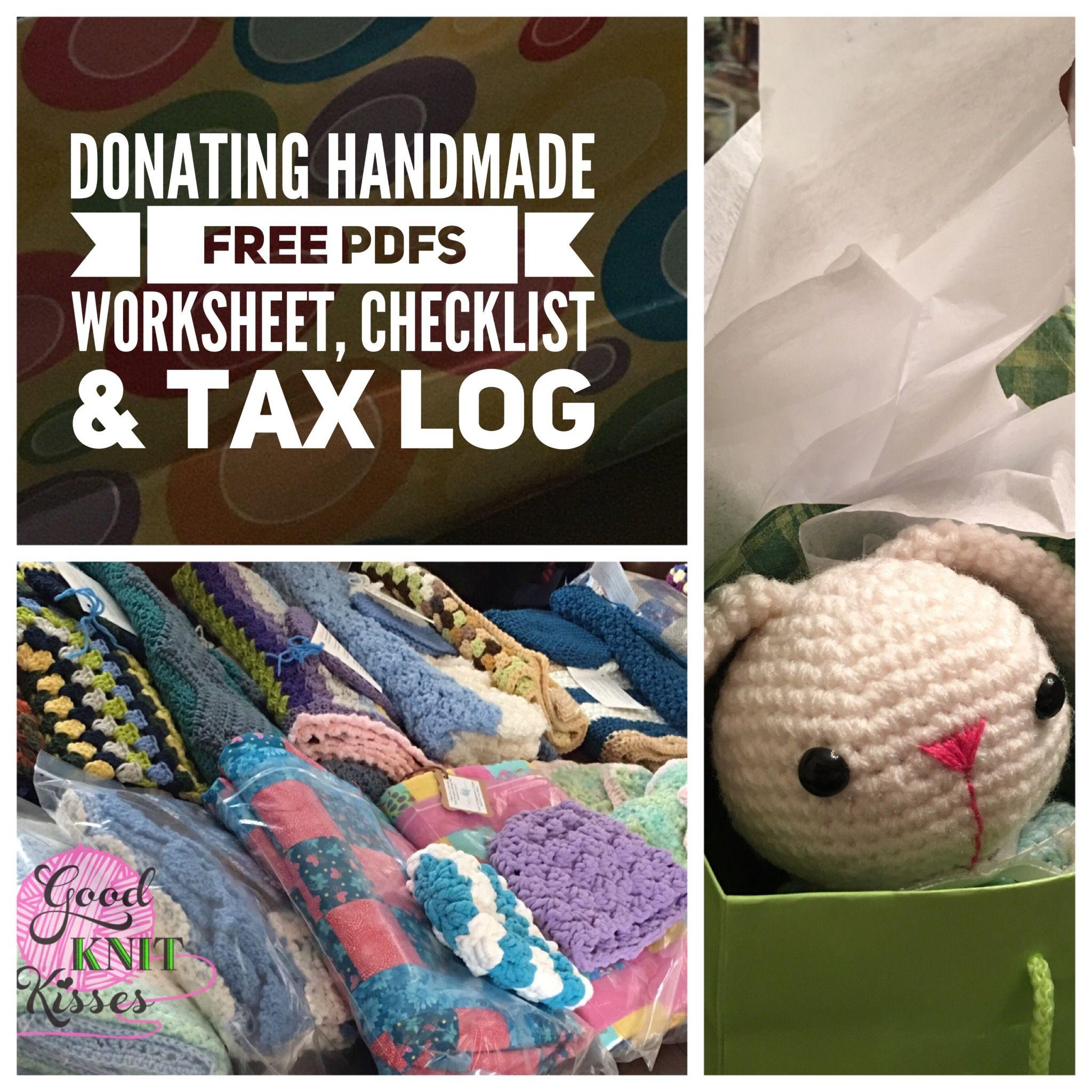 Donating Handmade Making It Work