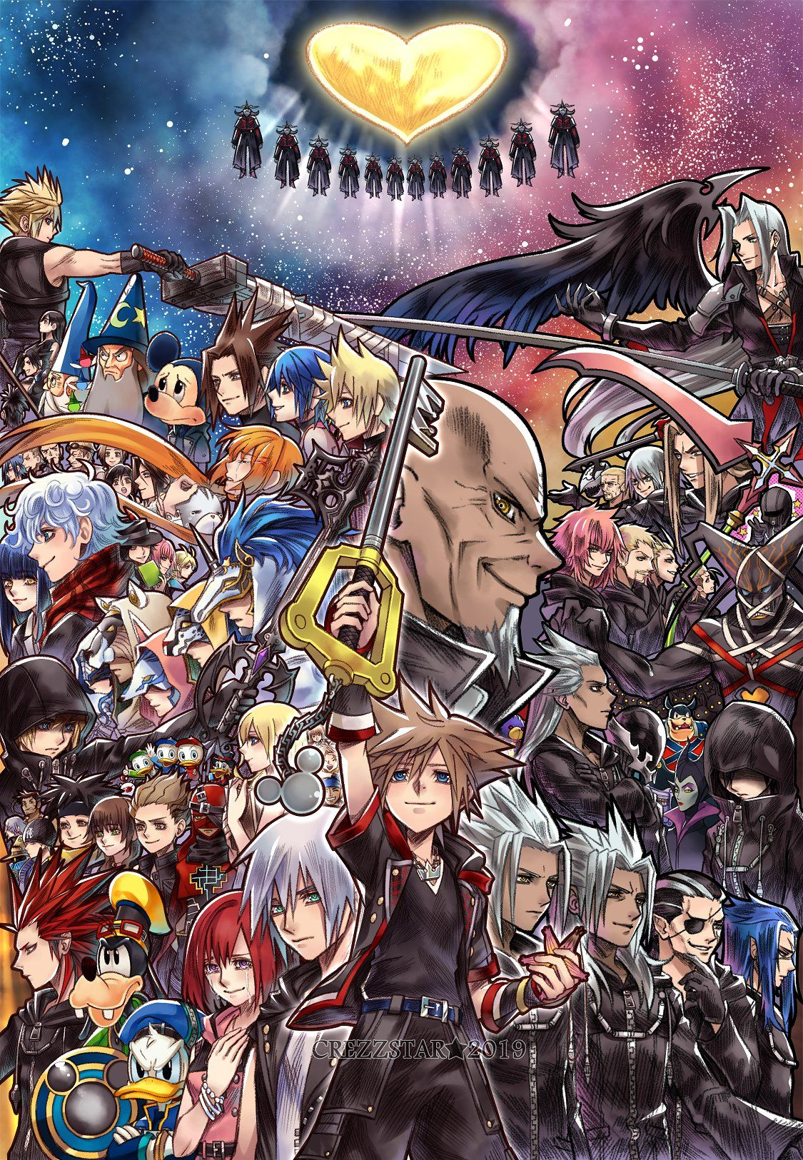 Kingdom Hearts | Kingdom hearts wallpaper, Kingdom hearts fanart, Kingdom  hearts funny