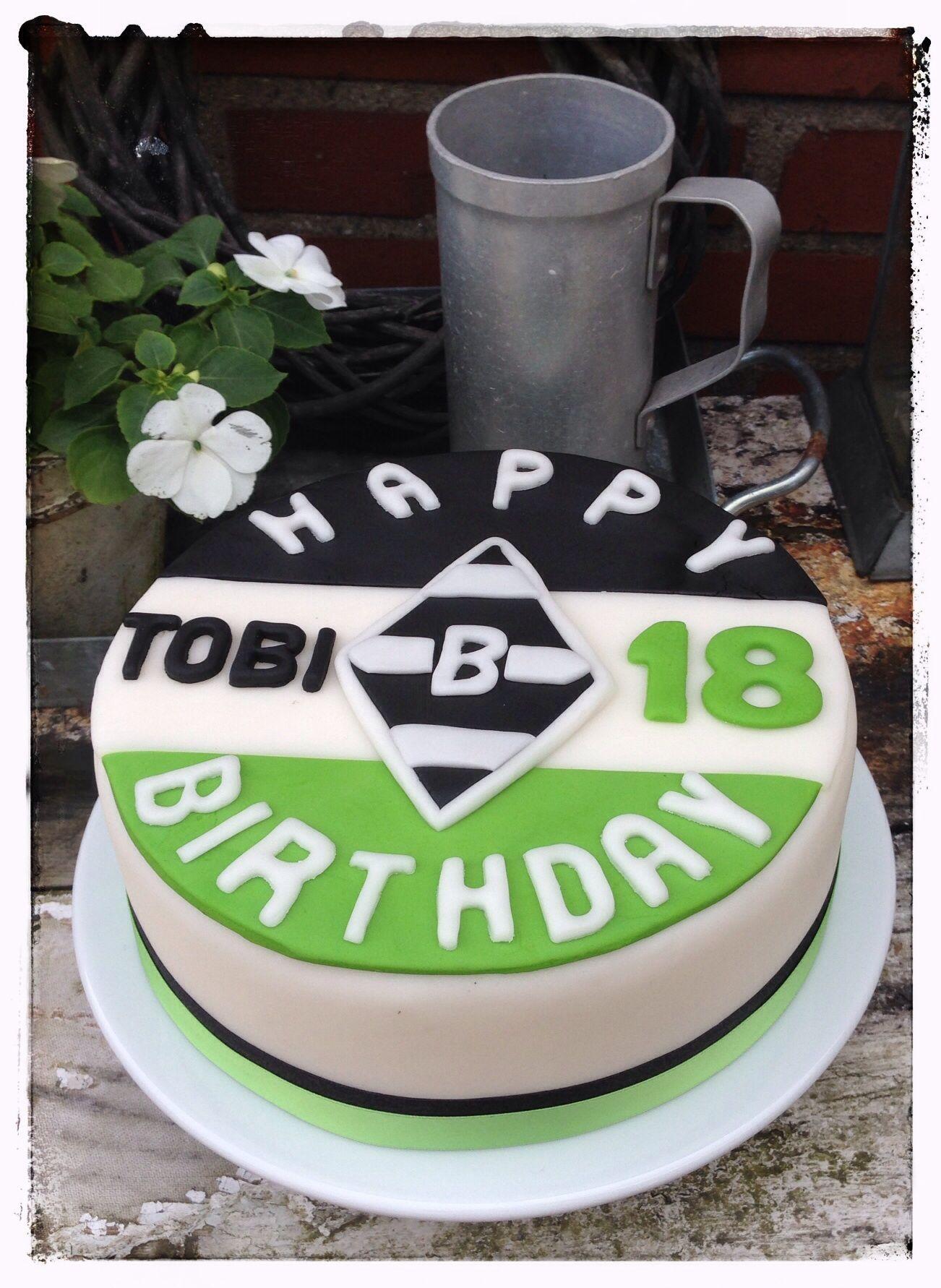 Borussia Monchengladbach Birthday Cake My Home Made Cakes Kuchen
