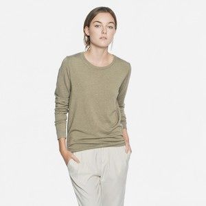 Harvest Colors at Everlane- love the business model.  The French Terry - Field