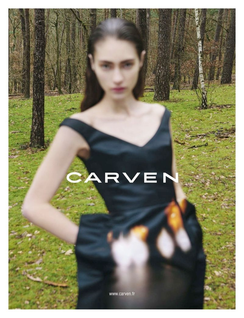 CARVEN GETS OUT OF FOCUS FOR FALL 2013 CAMPAIGN BY VIVIANE SASSEN