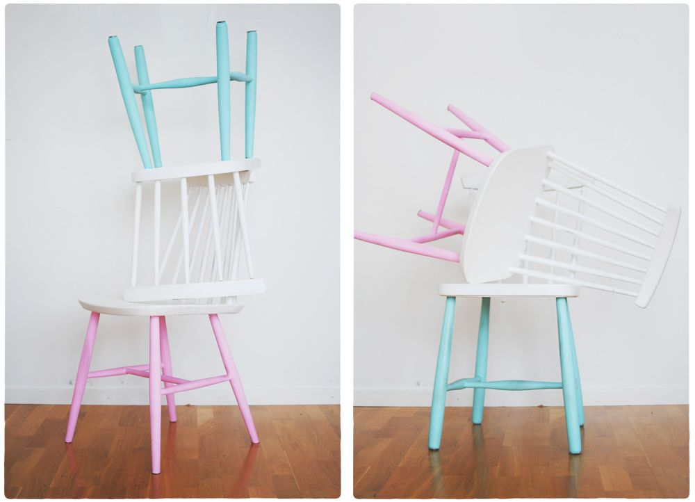 Dipped chairs