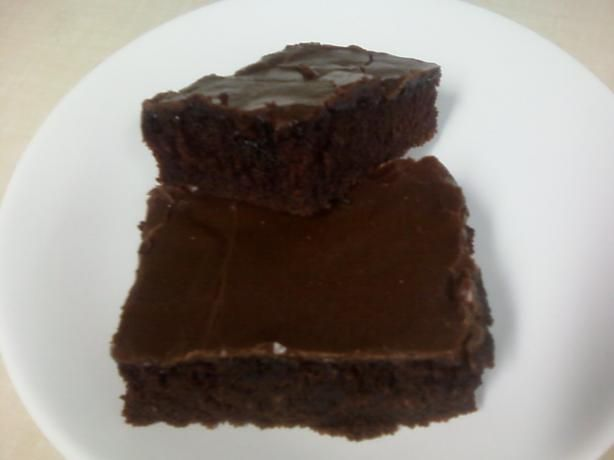 Buttermilk Brownies With Frosting Recipe Food Com Recipe Frosting Recipes Buttermilk Brownies Brownie Frosting