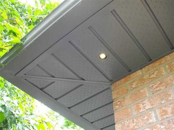 Outdoor Soffit Lighting Recessed Projector Fixture