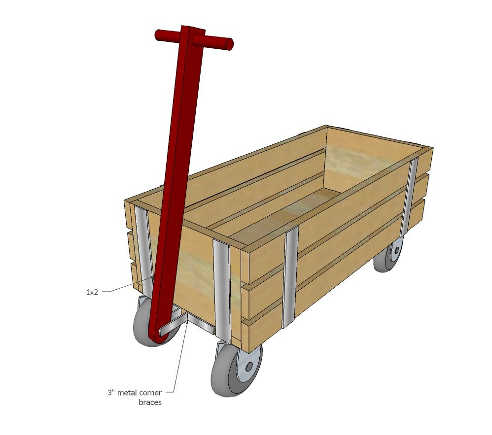 Build A Beautiful Wood Wagon For Children