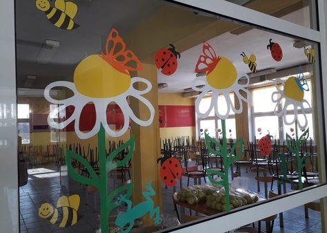 Ozdoba Sali Wiosenna Laka Spring Classroom Decorations Door Decorations Classroom Preschool Decor