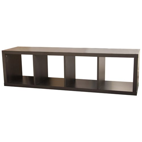 For The Tv If Too Short Add Some Legs Cube BOOKCASE - Cube bookshelves