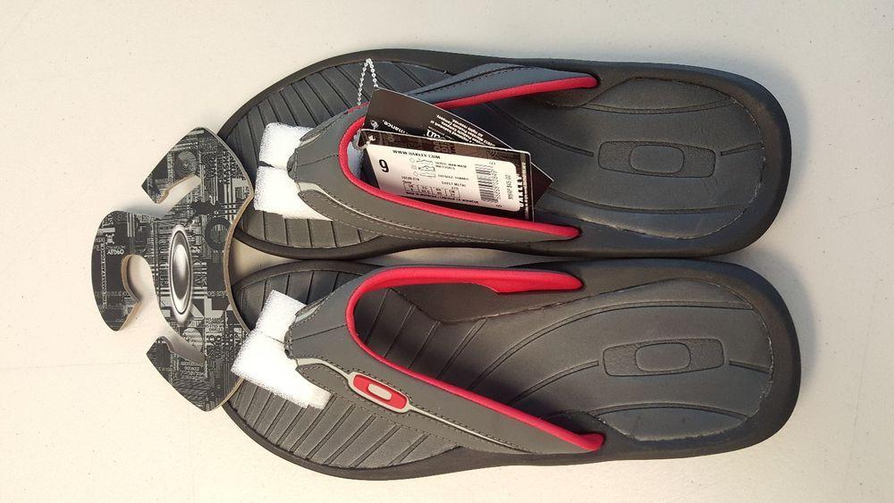 Oakley Mens Dune Sandals Flip Flops - size 9 Sheet Metal ...
