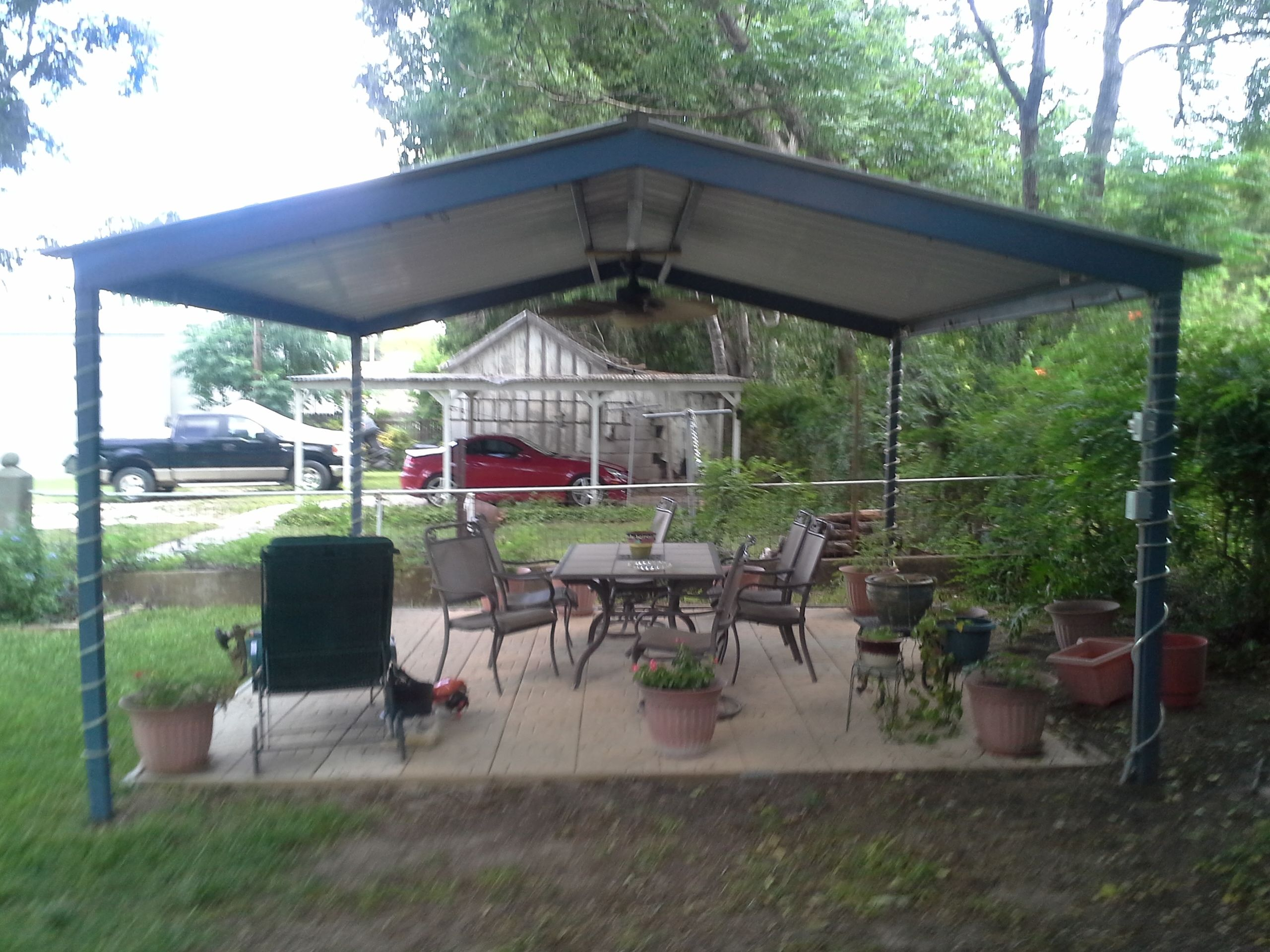 free standing patio cover kits free