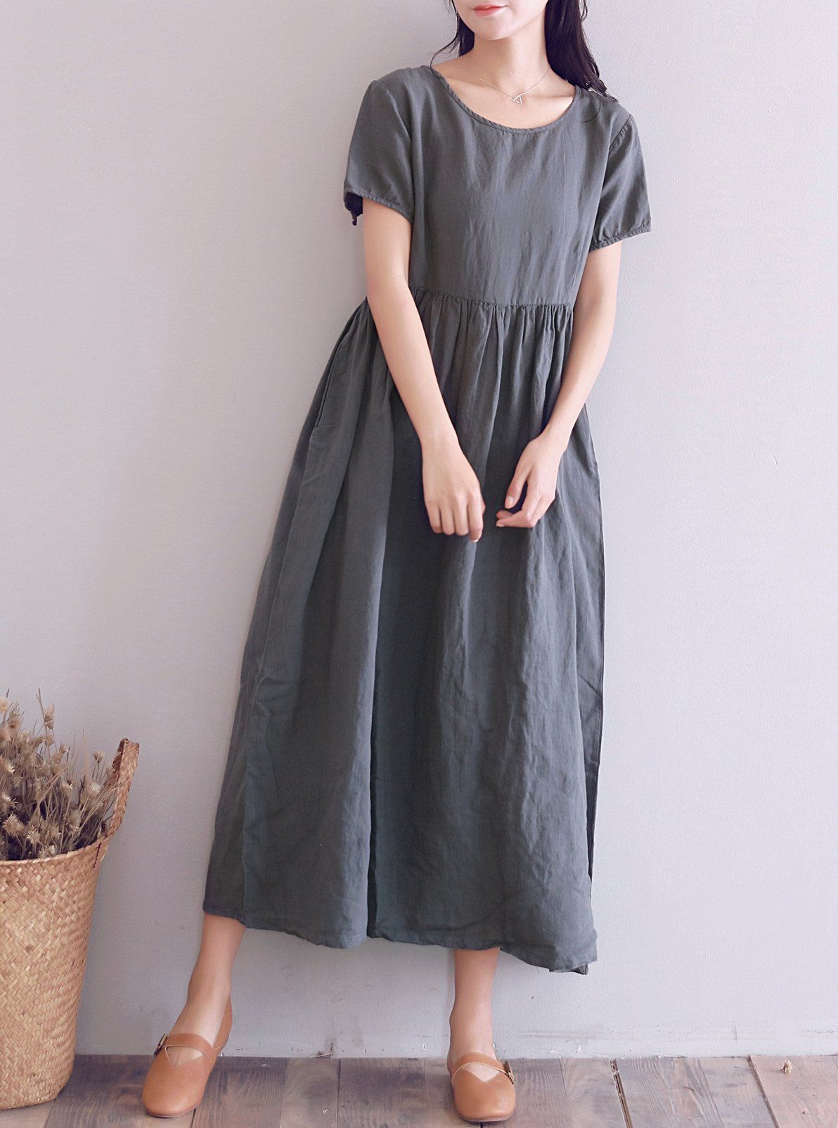 6efed33d7ef Women Maternity Clothes - YUHEYUHE Womens Casual Loose Tunic Long Maxi  Summer Linen Dresses with Pockets     Click picture for more details.