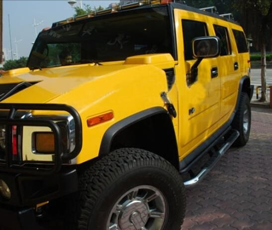 4x4 Cars Accessories For Hummer H2 H3 Stainless Steel Running Board Side Step Bar Hummer H2 Car Accessories Hummer