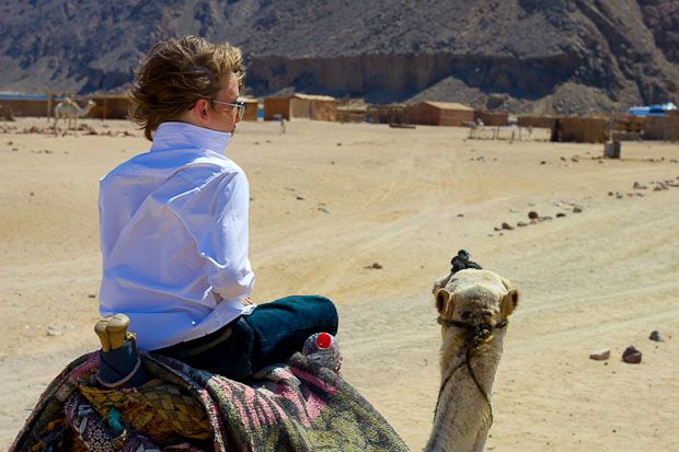 Ras Abou Galoum- purple jellyfish, camels, and a great digital detox from @Theodora Sutcliffe