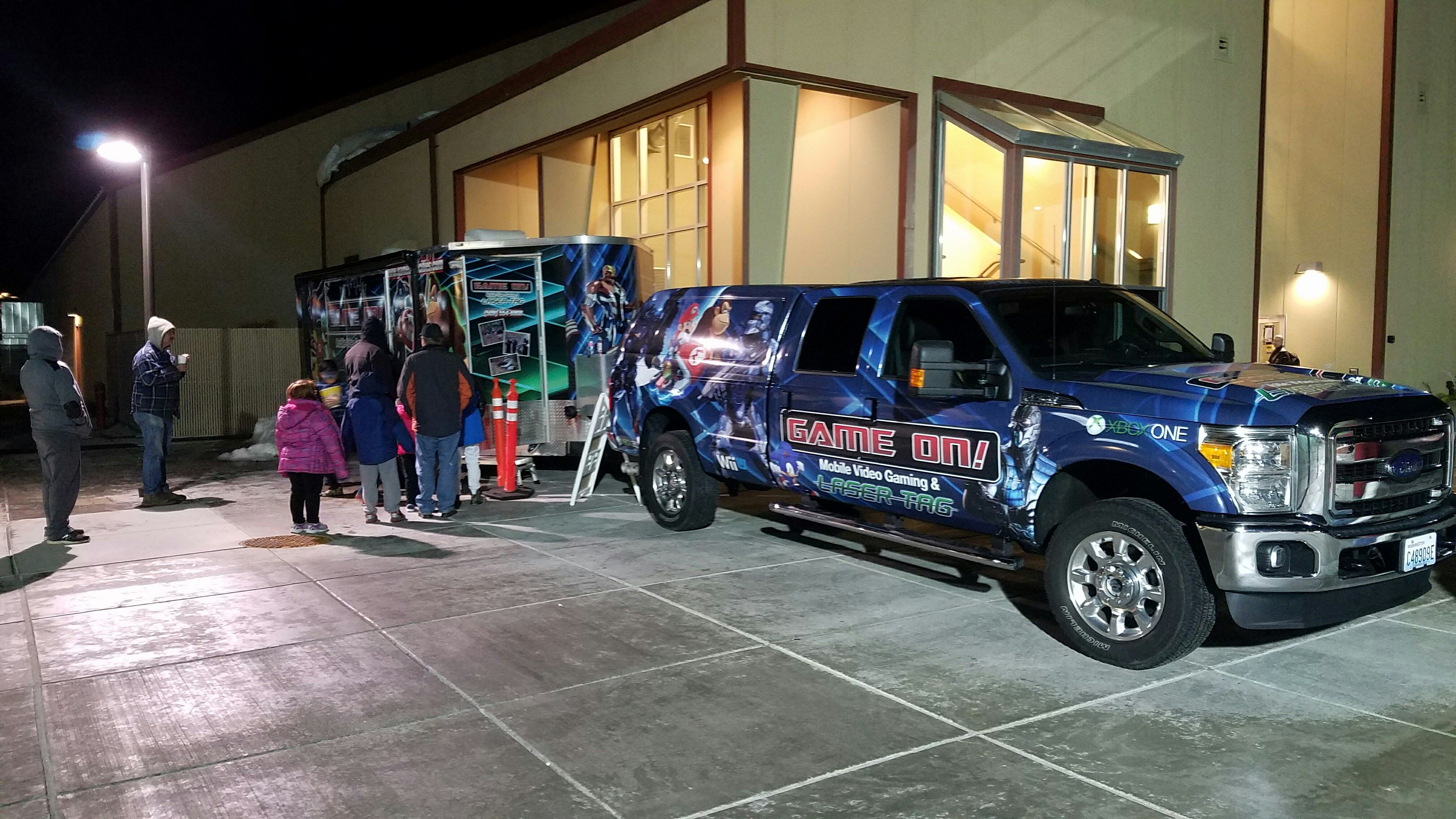 Video game truck at First Night TriCities!