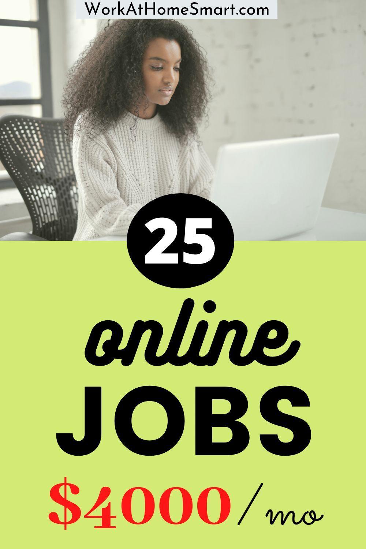 25 legit online jobs that pay weekly in 2020 in 2020