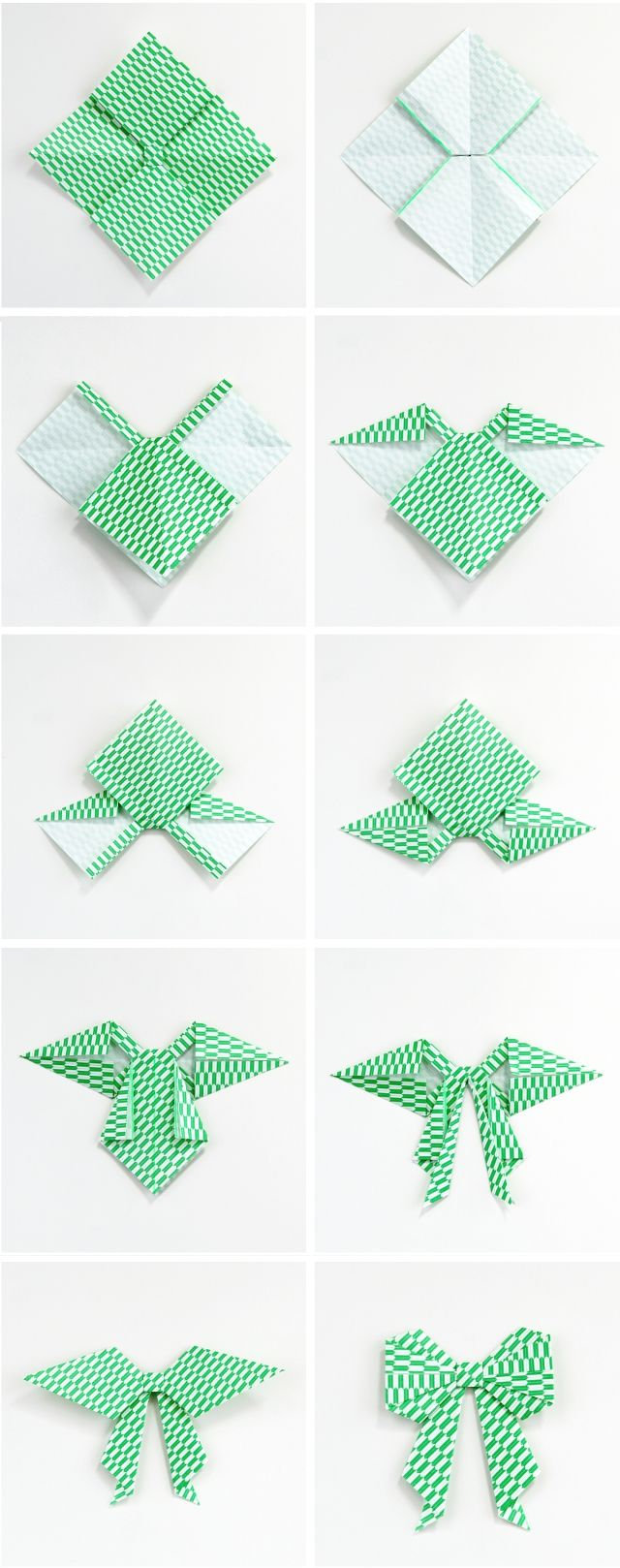 Photo of HOW TO MAKE AN ORIGAMI PAPER BOW. — Gathering Beauty