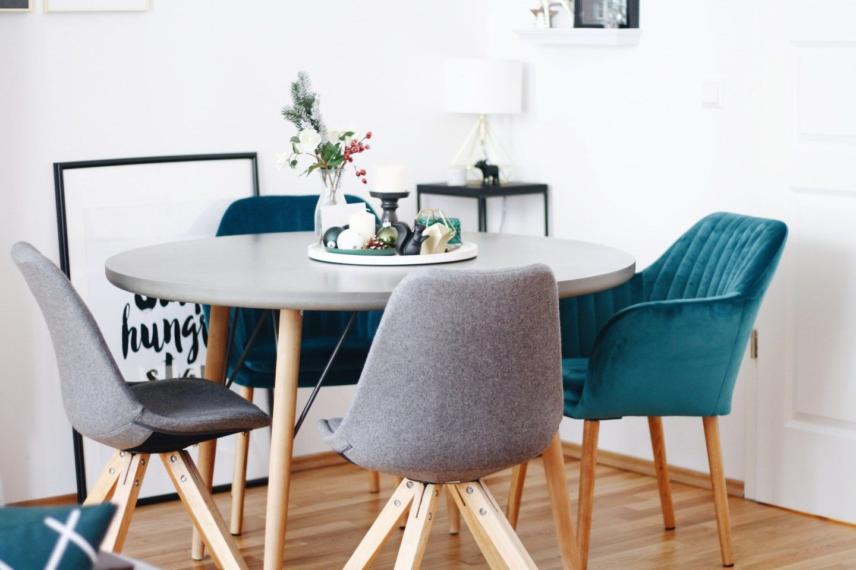 Titelbild Interior Inspiration Tipps Zur Esszimmer Gestaltung Mit Rundem Tisch Passenden Stuhlen Lifestyle Blog Leipzi Esszimmer Haus Deko Esszimmertisch