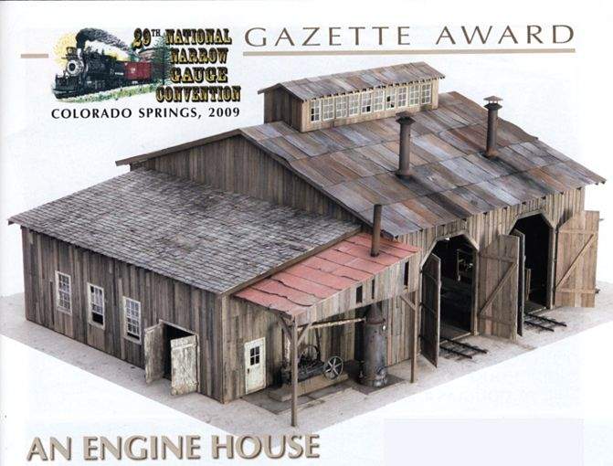 Pin by model railway design on model railroad buildings - Printable ho scale building interiors ...