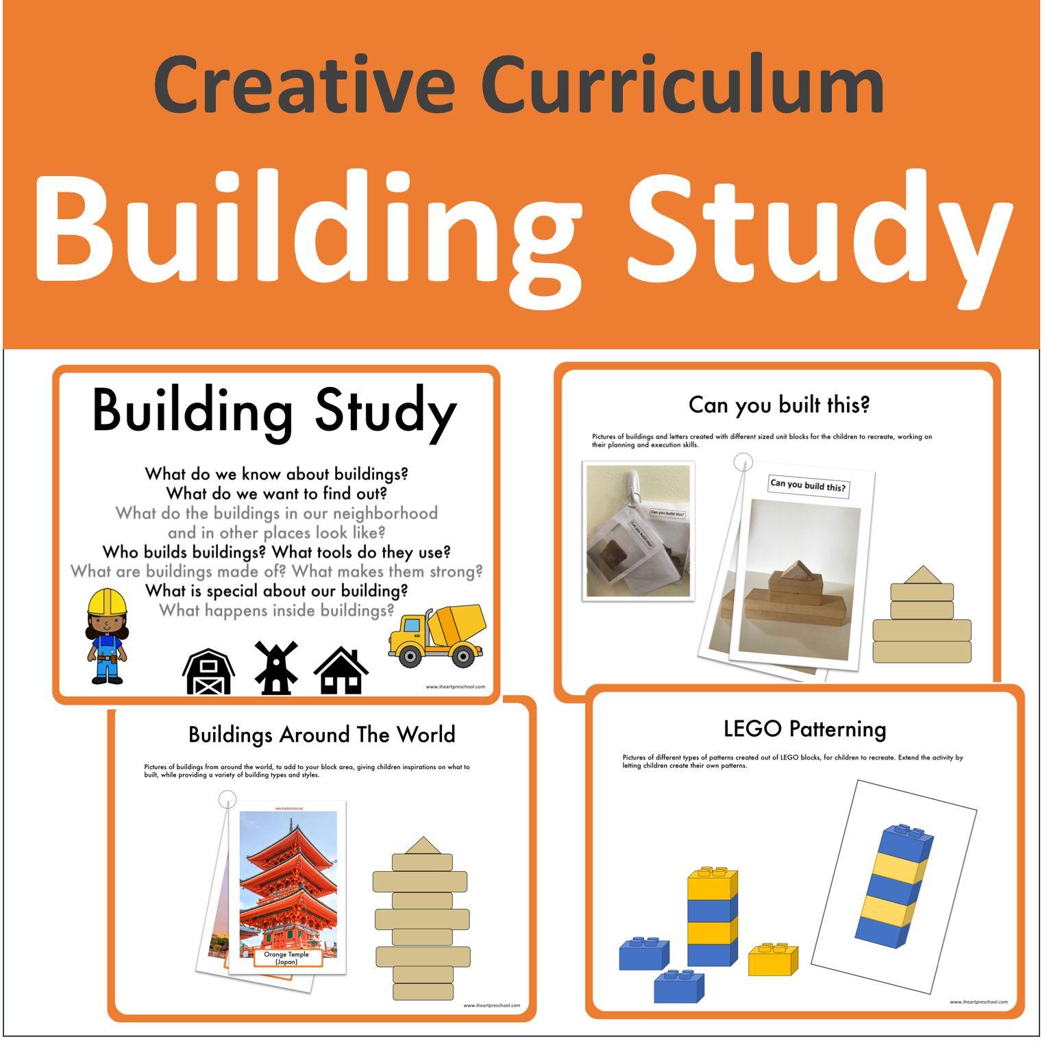 Creative Curriculum Building Study Teaching Strategies Creative Curriculum Creative Curriculum Creative Curriculum Building Study