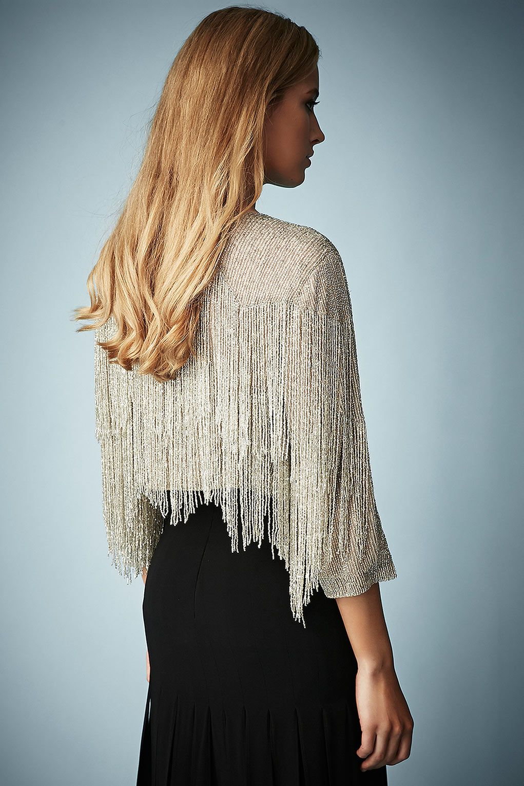 Beaded Fringe Jacket by Kate Moss for Topshop - Kate Moss for ...