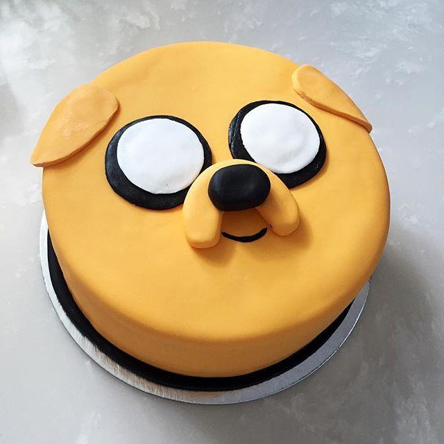 Jake the dog! #nikkiscakes #adventuretime #adventuretimecake ...