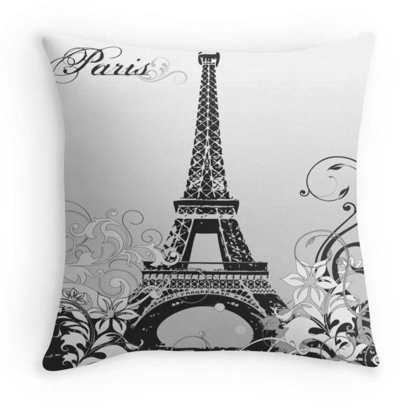 Paris nursery French decor Paris baby shower Paris themed room Eiffel Tower Paris Pillow Mint green Eiffel Tower Paris gift
