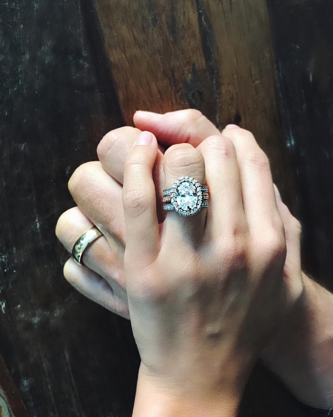 3 448 Likes 90 Comments Brittany Lutz Gonzales Brittanybg On Instagram F O R E V E R Thank You To One Of Rings For Men Wedding Rings Rings