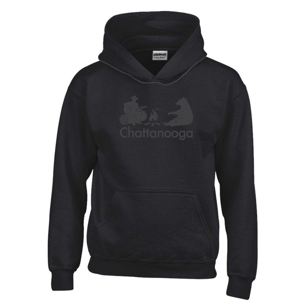 Chattanooga Campfire & Bear - Tennessee Youth Hoodie/Sweatshirt