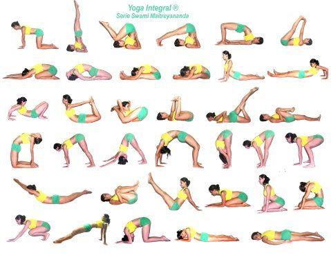 Secuencia De Yoga Integral De Swami Maytreyananda Secuencias De Yoga Yoga Estilos De Yoga