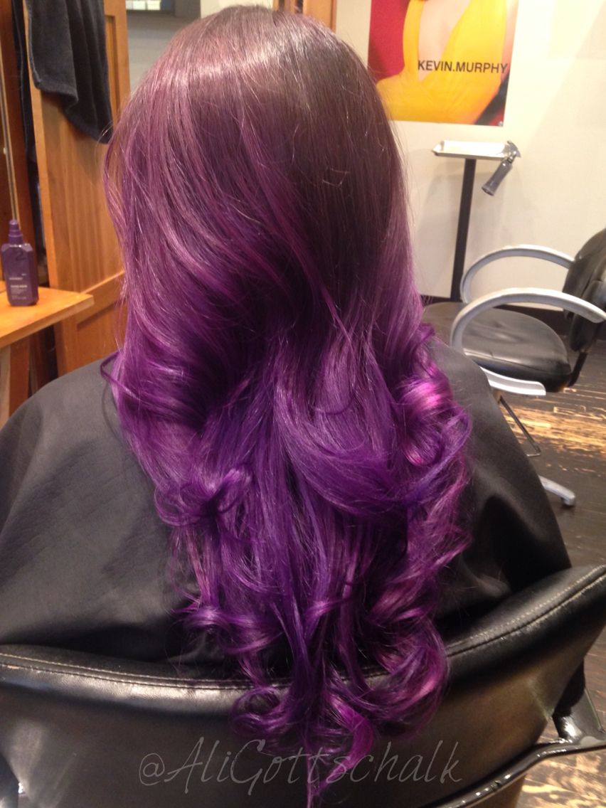 Purple Haze Color Cut And Style By Ali Gottschalk At 1313