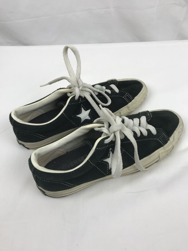 9e3c25bd92ca35 Vintage CONVERSE One Star Shoes Sneakers USA MADE Size 9  Converse   AthleticSneakers