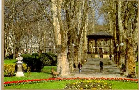 Zrinjevac Park Zagreb Zagreb Croatia City