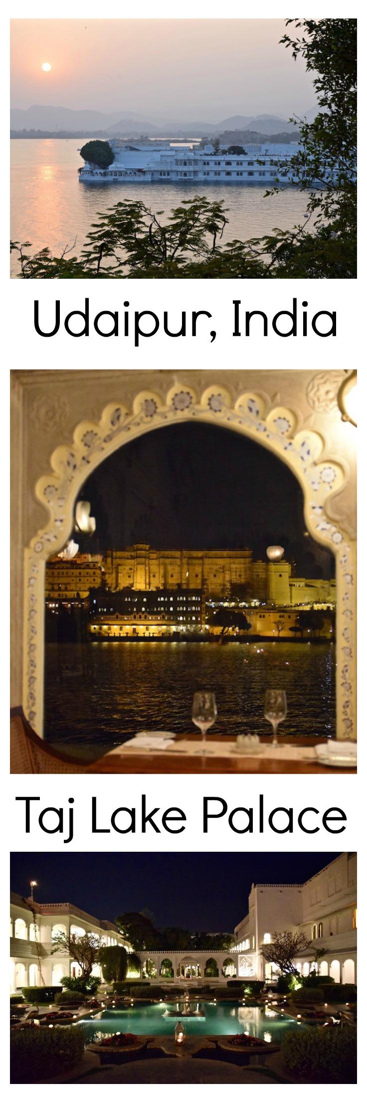 Udaipur and the Taj Lake Palace Asia travel, India