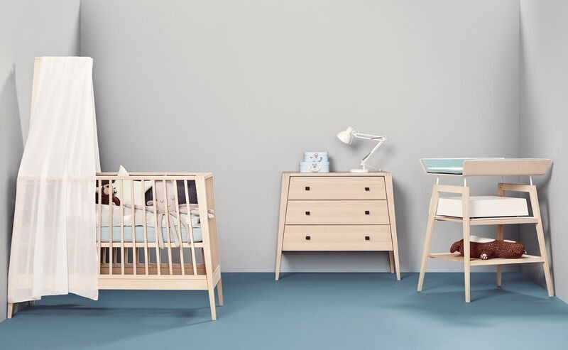 Linea By Leander Cot And Change Table Package Natural